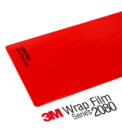 3M 2080 Car Wrap Series G83 - тъмно червено