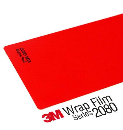 3M 2080 Car Wrap Series M13 червен, мат