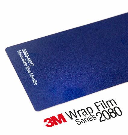 3M 2080 Car Wrap Series M217 - син матов металик