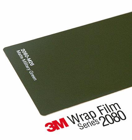 3M 2080 Car Wrap Series M26 тъмнозелен, мат