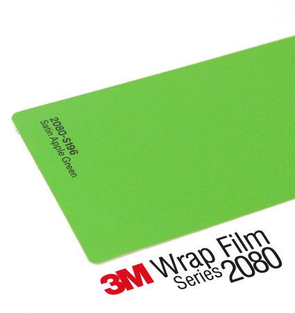 3M 2080 Car Wrap Series S196 - светлозелен, сатен