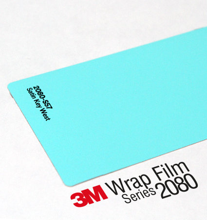 3M 2080 Car Wrap Series S57 тюркоазен цвят, сатен