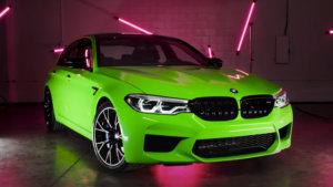 3M 2080 Wrap Film Series G16 Light Green - светло зелен, гланц