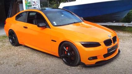 3M 2080 Wrap Film Series G24 Deep Orange - ярко оранжево, гланц