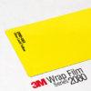 3M 2080 Wrap Film Series G55 - наситено жълто, гланц