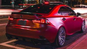 3M 2080 Car Wrap Series SP273 наситено червен, сатен
