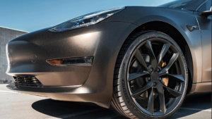 3M 2080 Car Wrap Series SP242 черен цвят с блясък, сатен