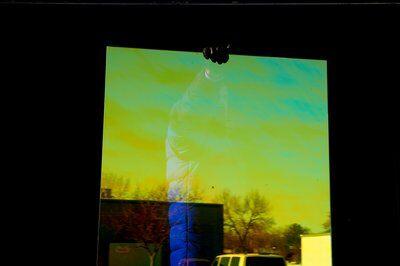 3M DICHROIC Glass Finishes DF Blaze - декоративно фолио за стъкла с преливащи се цветове