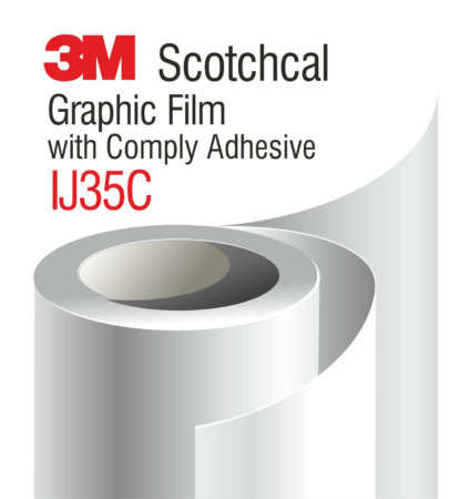 3M-Scotchcal-Graphic-Film-with-Comply-Adhesive-IJ35C бял мат