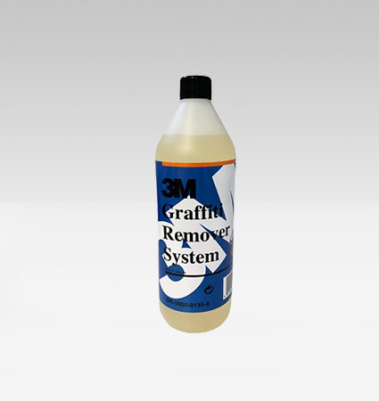 3M Graffiti Remover System - препарат за премахване на графити