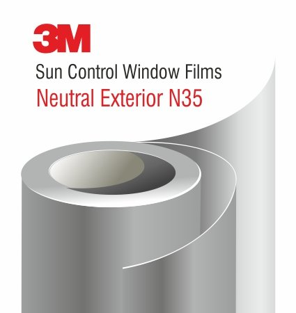3M Sun Control Window Film Neutral N35 Exterior - слънцезащитно фолио за външен монтаж
