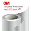 3M Sun Control Window Film Neutral N70 Exterior