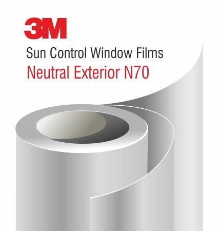 3M Sun Control Window Film Neutral N70 Exterior - слънцезащитно фолио за външен монтаж