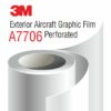 3M Exterior Aircraft Graphic Film A7706, Perforated