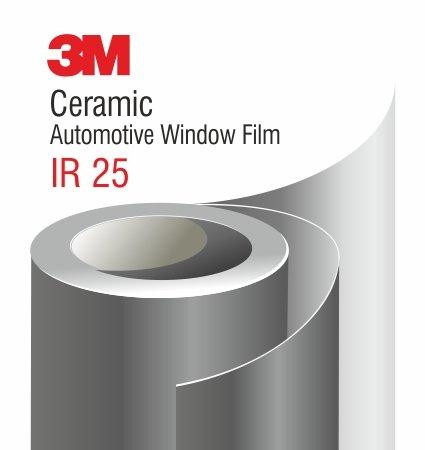 3M Ceramic IR 25 Automotive Window Film - слънцезащитно фолио
