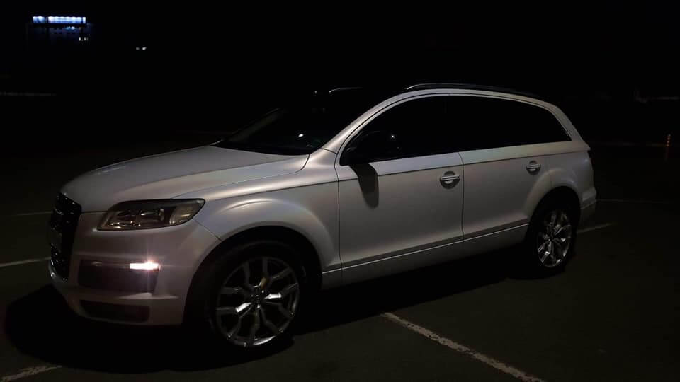 Complete car wrapping for Audi with 3M 1080 Wrap Film Series SP280 - Ghost Pearl