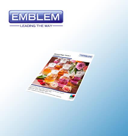 EMBLEM Solvent Magic Textile II - translucent textile