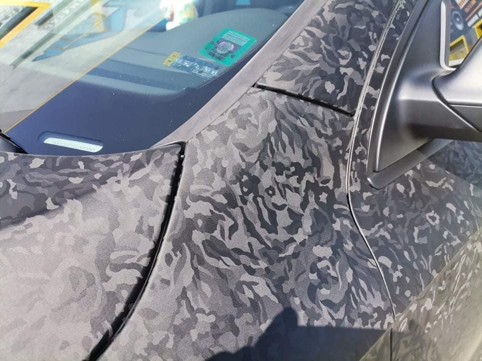 Облепяне на Ауди с 3M 2080 Wrap Series - черен камуфлаж