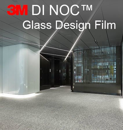 3M DI-NOC Glasss Design Film - декоративно фолио за стъкла